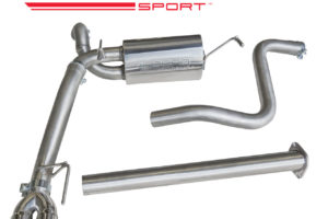 Vauxhall Astra GTC 1.6 Non Resonated Cat Back Exhaust VX32