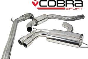 Audi A3 TFSI Cobra Sports Exhaust