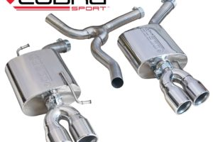 Audi A5 TDI Dual Exit Sports Exhaust 1