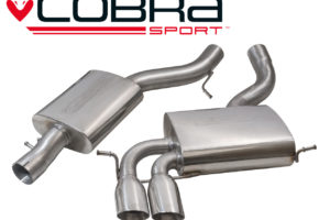 Audi A3 2.0 TFSI Quattro Cobra Sports Exhaust