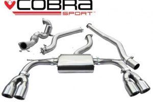 Audi S3 Saloon Cobra Sports Exhaust