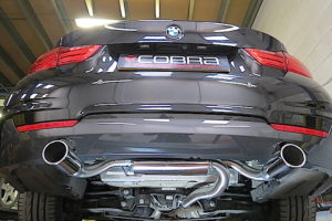 BMW 420D Sports Exhaust Fitted -1
