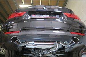 BMW 320D F30 Saloon Dual Exit 340i Cobra Sport Exhaust Conversion
