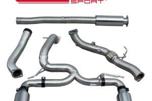 Ford Focus RS (MK3) Venom Turbo Back Exhaust with De-Cat - FD96c