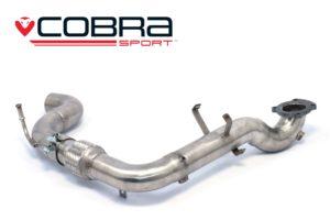 Ford Fiesta Mk8 1.0 EcoBoost De-Cat Cobra Sport Exhaust