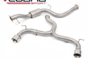 Ford Focus ST 225 / XR5 Venom Cat Back Exhaust by Cobra Sport - FD24