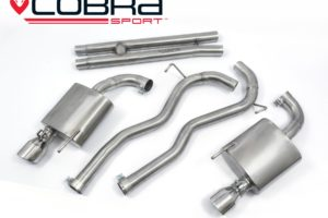 Ford Mustang GT V8 Cat Back Exhaust by Cobra Sport