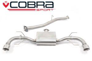 Mazda RX8 Cobra Sport Cat Back Exhausts - MZ08