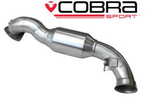 Mini Cooper S Cobra Sport Exhaust (High Flow Sports Cat)