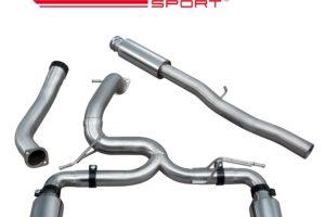 Ford Focus RS (MK3) Valveless Venom Cat Back Exhaust - FD94