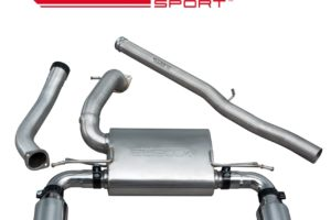 Ford Focus RS (MK3) Non Resonated Cat Back Sport Exhaust - FD88