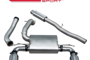 Ford Focus RS (MK3) Valveless Resonated Cat Back Exhaust - FD87