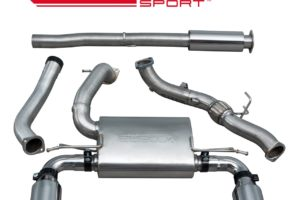 Ford Focus RS (MK3) Resonated Turbo Back Exhaust with De-Cat - FD88c