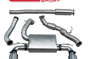 Ford Focus RS (MK3) Resonated Turbo Back Exhaust with Sports Cat - FD88a