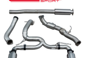 Ford Focus RS (MK3) Venom Turbo Back Exhaust with Sports-Cat - FD96a