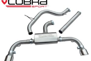 VW Golf GTI MK7 Cat Back Non Resonated Sports Exhaust