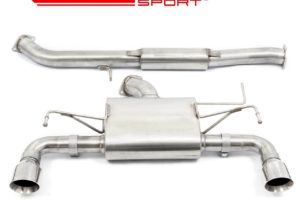 Nissan 350Z Resonated Cobra Sport Performance Exhausts - NZ02