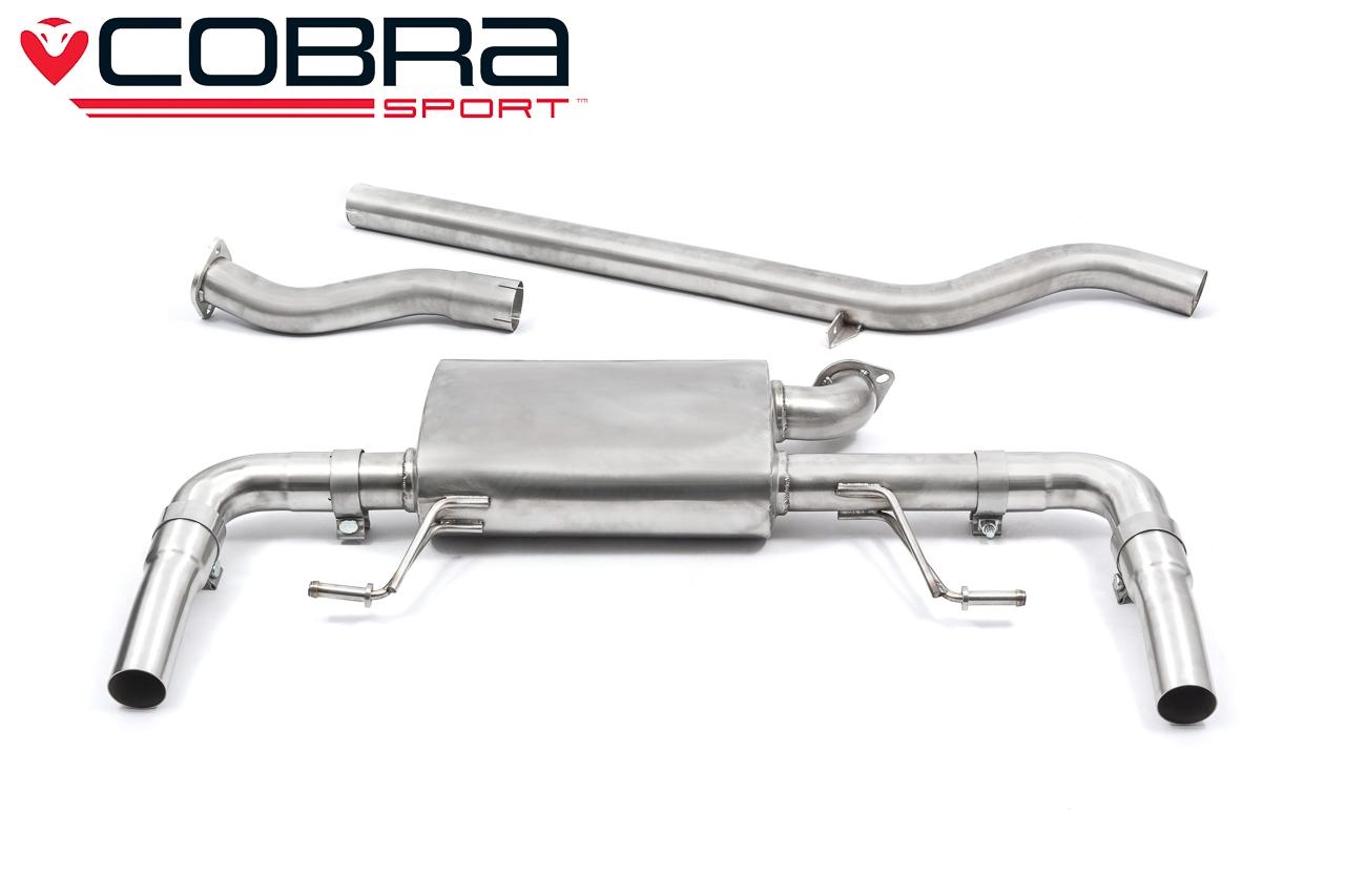 Renault Clio RS 200 Non Resonated CatBack Cobra Exhaust