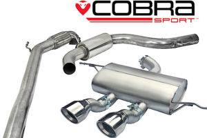Leon Cupra R Sports Exhaust Fitted