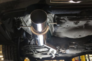 Subaru_Sports_Exhaust_Fitted