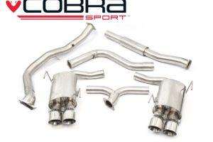 Subaru WRX STI Resonated De-Cat Turbo Back Performance Exhaust - Cobra Sport SU83c