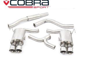 Subaru WRX STI Resonated Cat Back Performance Exhaust - Cobra Sport SU82G