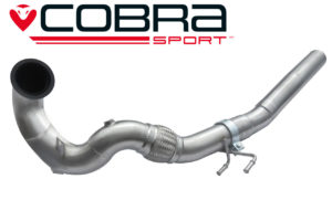VW Golf GTI MK7 DeCat Front Exhaust Pipe SE51