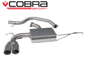 VW Scirocco GT 2.0 TSI Sports Exhaust VW28