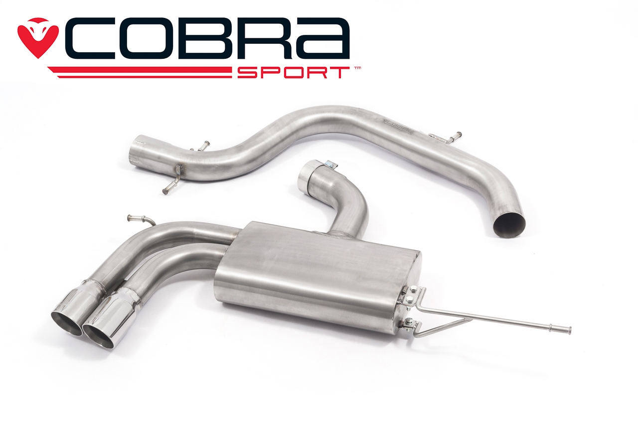 VW Golf GTI Mk5 Cobra Sport Non Resonated Performance Exhaust - VW20