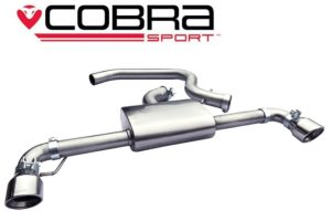 VW Scirocco R Non Resonated Cat Back Exhaust