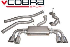 VW Golf R Mk7 Turbo Back Sports Exhaust - VW50b